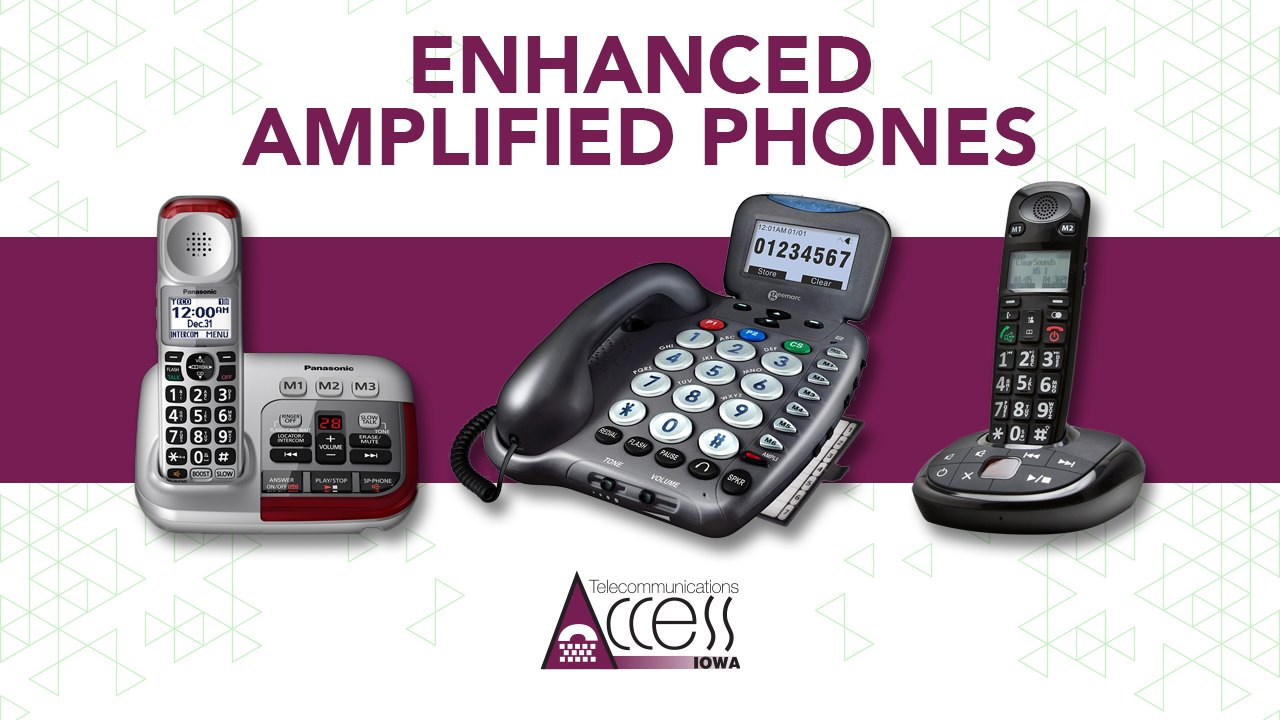 18 amplfied phones
