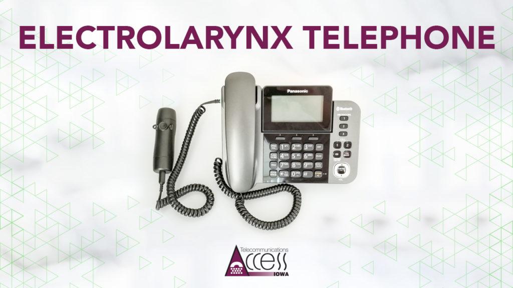 Electrolarynx Telephone Kit